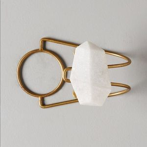 NWT Anthropologie Marble Curtain Tieback